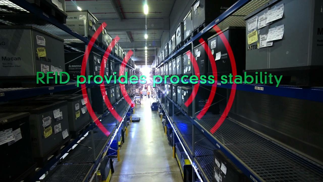 RFID Schnellecke Logistics